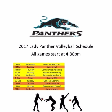 2017 vball sched