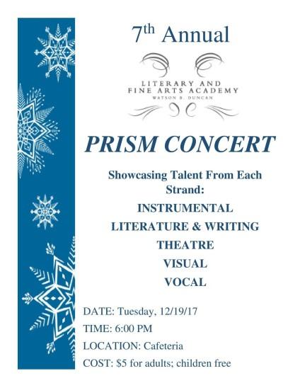 7th annual prism concert